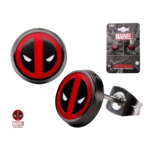 Deadpool Logo Earrings